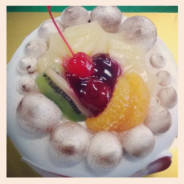 A. Cake.